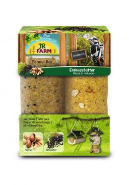 Корм для уличных птиц - JR Garden PBar double pack Nuts&Elderberies, 700 г