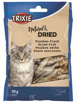 Gardums kaķiem - TRIXIE Dried Fish, 50 g