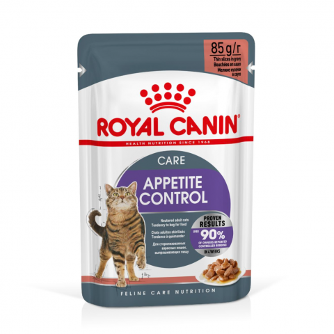 Консервы для кошек - Royal Canin Feline Appetite control (in sauce), 85 г title=