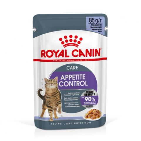 Консервы для кошек - Royal Canin Feline Appetite control (in jelly), 85 г title=