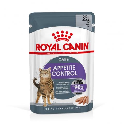 Консервы для кошек - Royal Canin Feline Appetite control (loaf), 85 г title=