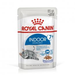 Консервы для кошек - Royal Canin Feline Indoor, Sterelised 7+ (in jelly), 85 г