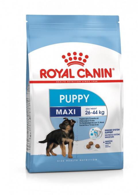 Корм для щенков - Royal Canin Maxi Puppy, 15 кг title=