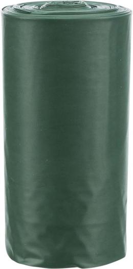 Пакетики для сбора экскрементов - Trixie, компостируемые, 10 рулонов, Темно-зеленые