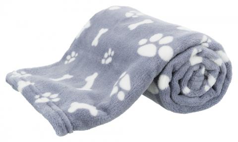 Sedziņa dzīvniekiem - Kenny blanket, plush, 75*50 cm, blue title=