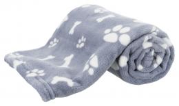 Sedziņa dzīvniekiem - Kenny blanket, plush, 100*75 cm, blue