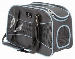 Сумка для транспортировки животных - Trixie Alison carrier, 20*29*43 см, grey/blue