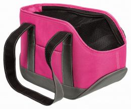 Сумка для транспортировки животных - Trixie Alea carrier, 16 x 20 x 30 см, pink/grey