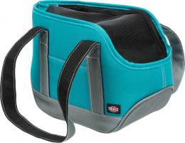 Transportēšanas soma dzīvniekiem - Trixie Alea carrier, 16*20*30 cm, petrol/grey