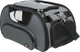 Сумка для транспортировки животных - Trixie Wings airline carrier, 28*23*46 см, grey/blue