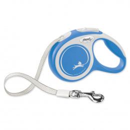Inerces pavada suņiem – Flexi New Comfort Tape Leashes XS 3 m, Blue