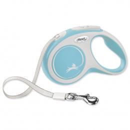 Поводок-рулетка для собак – Flexi New Comfort Tape Leashes S 5 м, Light Blue