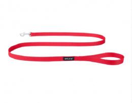 Поводок - AmiPlay Поводок Basic S, 150*1cм, цвет - красный