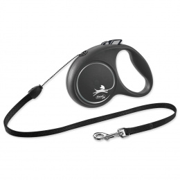Inerces pavada suņiem - Flexi Black Design S Cord 5m, black
