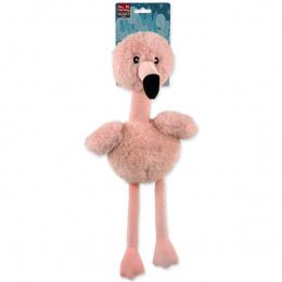 Rotaļlieta suņiem - Dog Fantasy Winter Tale Flamingo, 35 cm