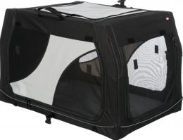 Transportēšanas bokss dzīvniekiem – Trixie, Vario Mobile Kennel, S, 61 × 43 × 46 cm, black/grey