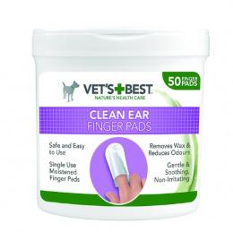 Uzpirksteņi ausu tīrīšanai - Vet's Best