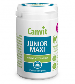 Vitamīni kucēniem - Canvit Junior Maxi tablets, 230 g