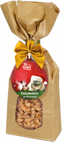Лакомство для кошек - JR Farm Christmas Milky Bits chicken filet, 75 г