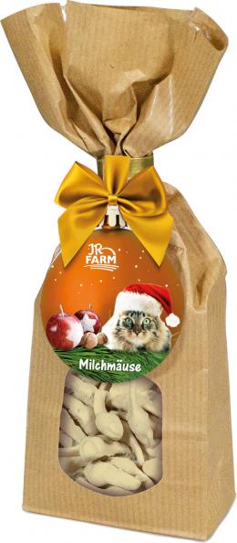 Лакомство для кошек - JR Farm Christmas Milky Mouse, 100 г