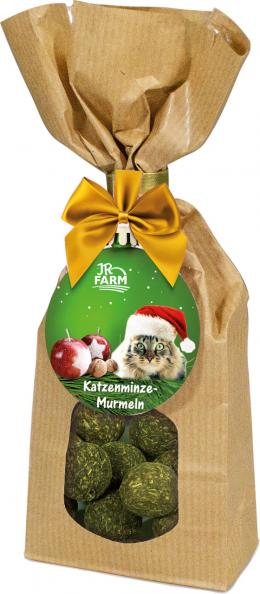 Лакомство для кошек - JR Farm Christmas Catnip Marbles, 75 г