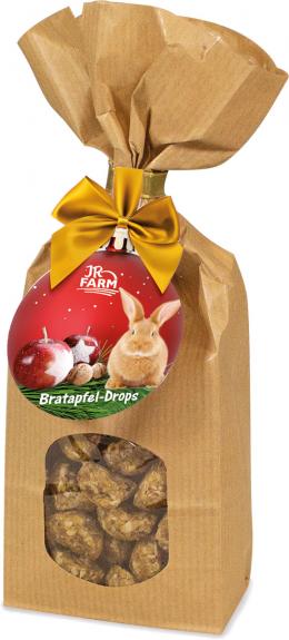 Лакомство для грызунов - JR Farm Baked apple drops, 75 г