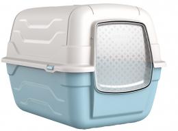 Tualete kaķiem - Avesa, Roto-Toilet with handle, filter and spade, 52 x 40 x 40 cm