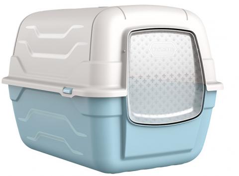 Tualete kaķiem - Roto-Toilet with filter and spade, 52x40x40 cm title=