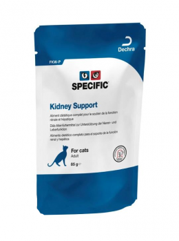 Veterinārie konservi kaķiem - Specific Kidney Support FKW-P, 85 g
