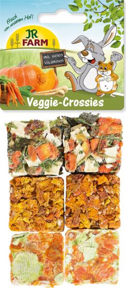 Gardums grauzējiem - JR Farm Veggie-Crossies, 100 g