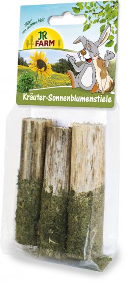 Gardums grauzējiem - JR Farm Herbal sunflower stems, 20 g