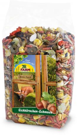 Barība vāverēm - JR FARM Squirrel treat, 600 g