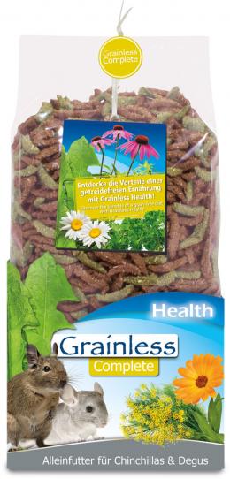 Barība šinšillām un degu - JR Grainless Health Complete Chinchilla and Degu, 600 g