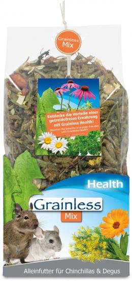 Barība šinšillām un degu - JR Grainless Health Mix Chinchilla & Degu, 600 g