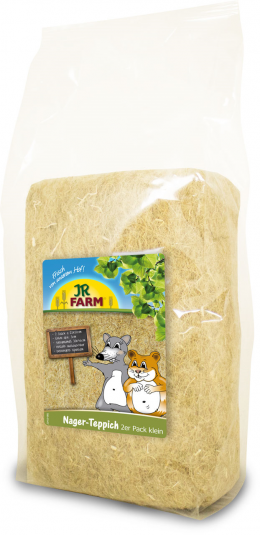 Наполнитель для клеток - JR Farm Small Animal Carpet, 2 x 23*30 см