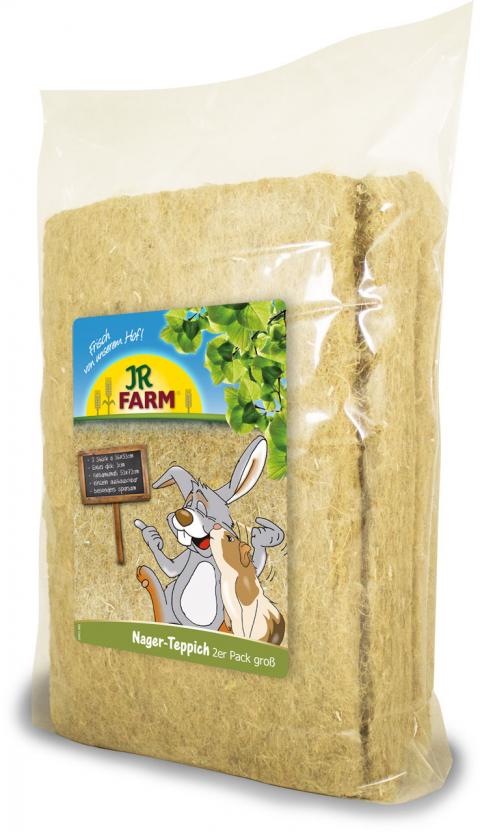 Paklāji dzīvnieku būriem - JR Farm Small Animal Carpet, 36 x 53 cm, 2 gab. title=