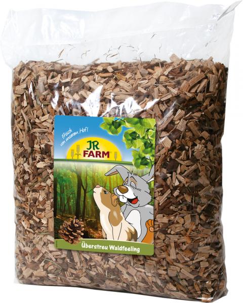 Pakaiši grauzējiem - JR Farm, Forest Feeling Edible Bedding, 10 l title=