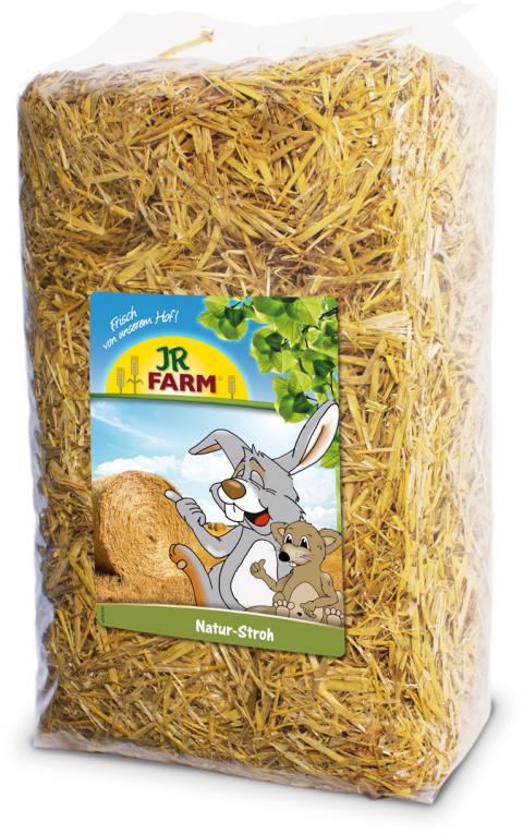 Солома - JR Farm Natural Straw, 10 кг title=