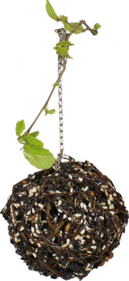 Лакомство для птиц - JR FARM Gourmet Willow Ball large, 300 г