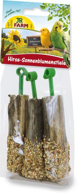 Gardums putniem - JR FARM Millet Sunflower stems, 20 g