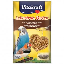 Barības piedeva putniem – Vitakraft Codliver Perls for Budgies, 20 g