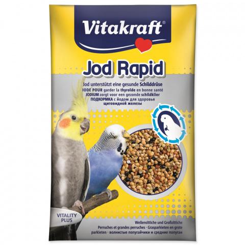 Barības piedeva putniem - Jod Rapid Perls for Budgies 20g title=