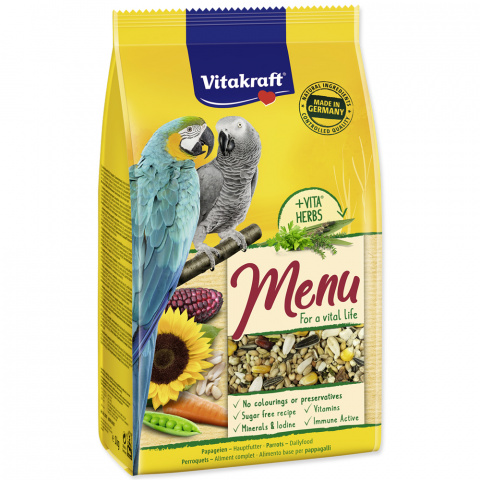 Корм для птиц - Menu for Parakeets (hone) 1kg