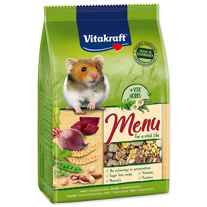 Barība kāmjiem - Vitakraft Menu for Hamster 400 g title=