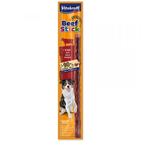 Gardums suņiem – Vitakraft Beef Stick with Beef, 12 g title=
