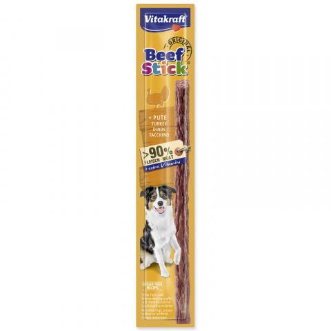 Gardums suņiem - Beef Stick (ar tītaru) 12g
