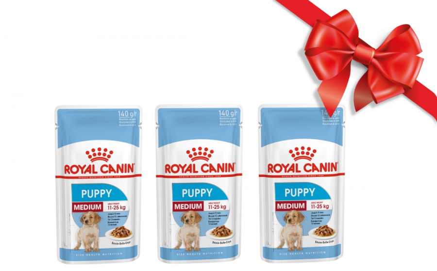 Dāvanu komplekts - Royal Canin Medium Puppy Kit