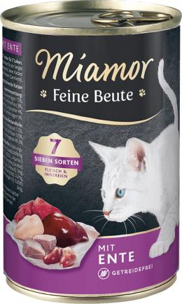 Консервы для кошек - Miamor Feine Beute Duck, 400 г