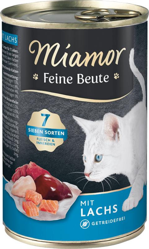 Консервы для кошек - Miamor Feine Beute Salmon, 400 г title=