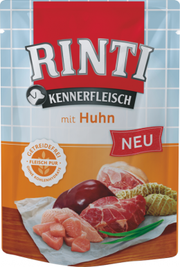 Консервы для собак - Rinti Kennerfl Pouch Chicken, 400 г